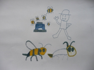 Thanks Alex for your great picture of your hive in your garden.